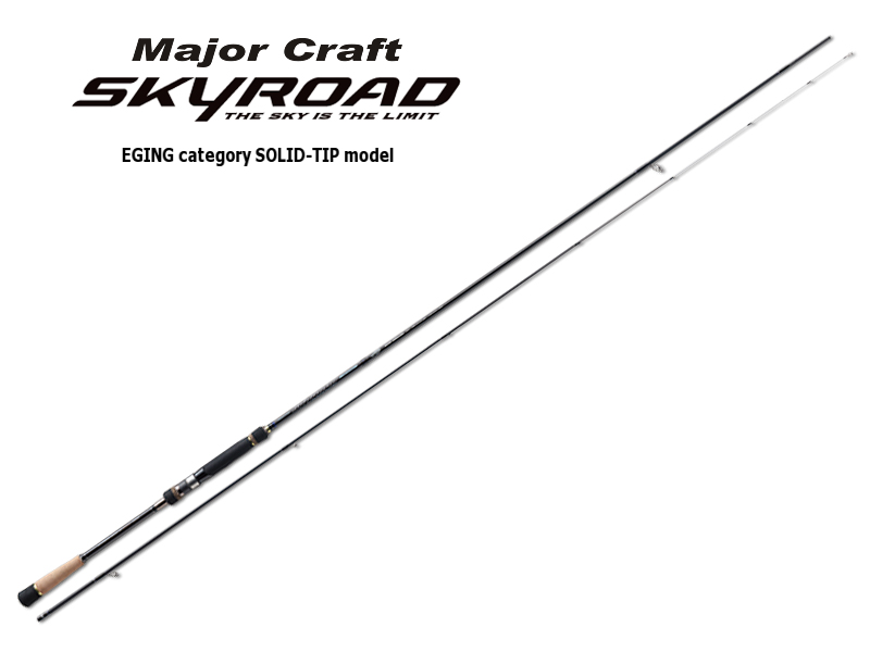 Majorcraft Skyroad Eging Category Solid - Tip Model SKR-S862E (Length: 2.62mt, Egi:2.5 - 3.5)