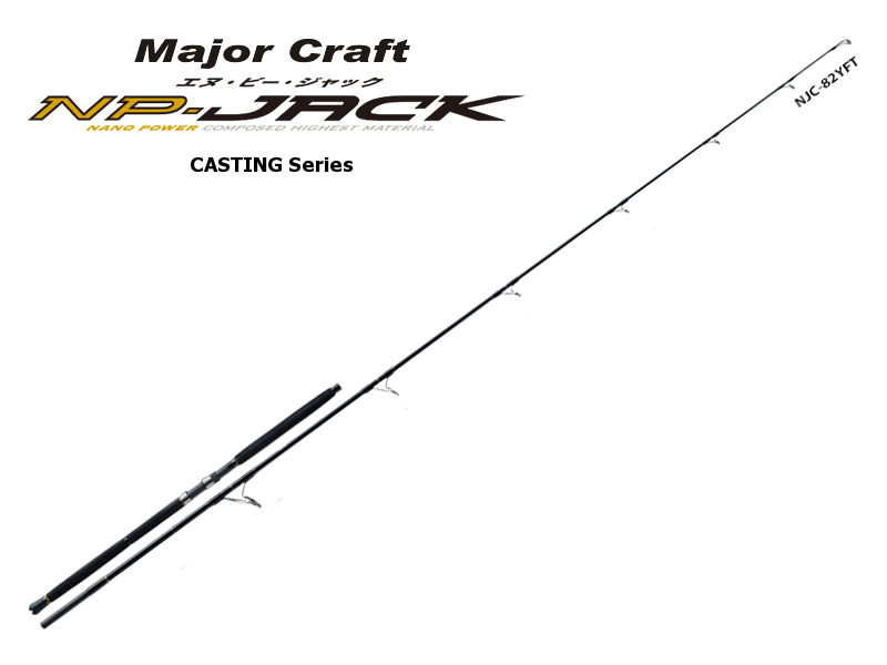 Major Craft NP-Jack Casting Series YFT (KIHADA) NJC-86YFT (Length:2.62mt, Lure: MAX 100gr)