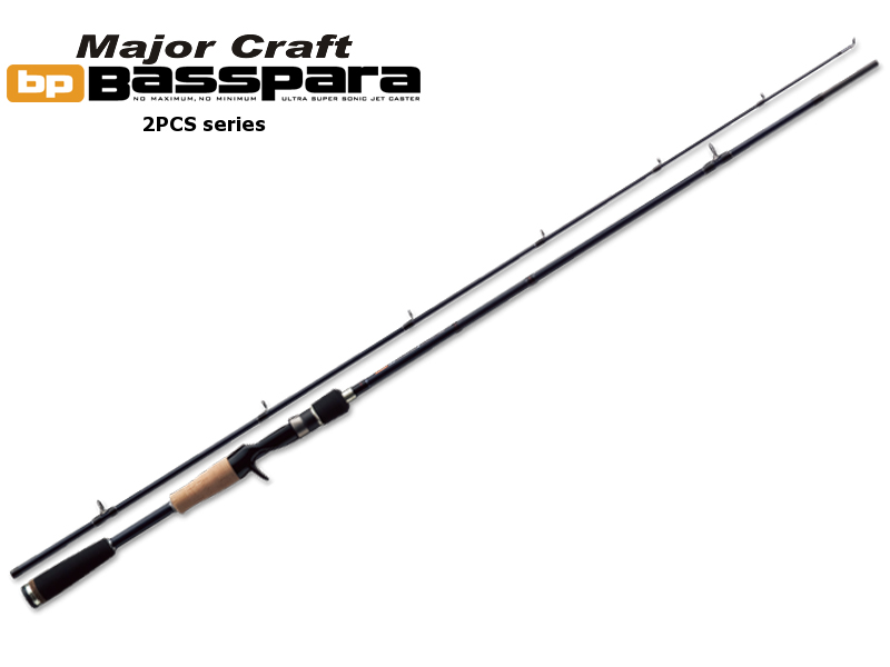 MajorCraft Basspara 2pcs Series Baitcasting BPS-632UL (Length:1.92mt, Lure:1/32-3/16 oz)