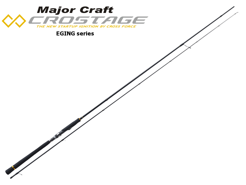 Major Craft New Crostage CRX-S862EL Eging Series (Length: 2.62mt, Egi: 2.0-3.5)