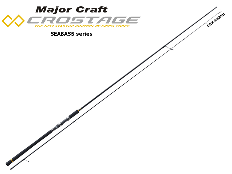 Major Craft New Crostage CRX-1002M Seabass Series (Length: 3.04mt, Lure: 15-42gr)