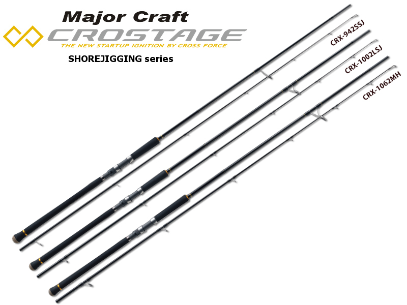Major Craft New Crostage Shore Jigging Series CRX-1002H (Length: 3.05mt, Lure: 60-100gr)