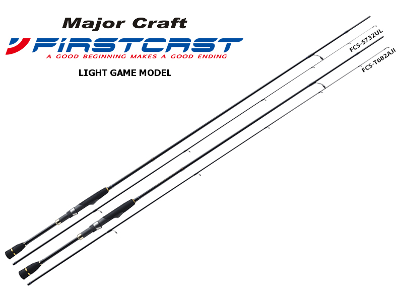 Major Craft First Cast Light Game Model FCS-S682AJI (Length: 2.07mt, Lure: 0.6-10gr)
