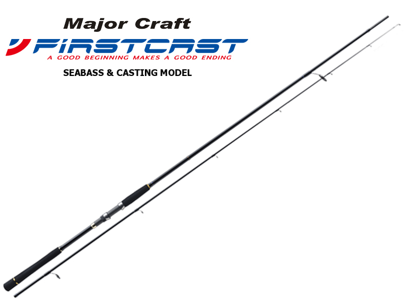 Major Craft First Cast Seabass & Casting Category FCS-862L (Length: 2.62mt, Lure: 7-23gr)