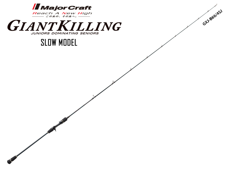 Major Craft New Giant Killing Slow Modell GXJ-B66/4SJ (Length: 2.01mt, Lure: 100-250gr)