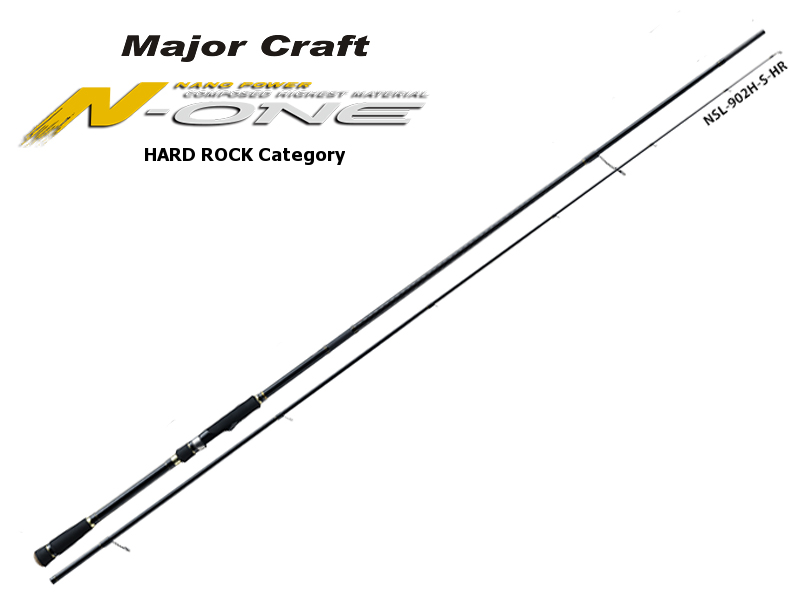 Major Craft N-One Hardrock Category NSL-742M/S (Length: 2.25mt, Lure: 5-25gr)