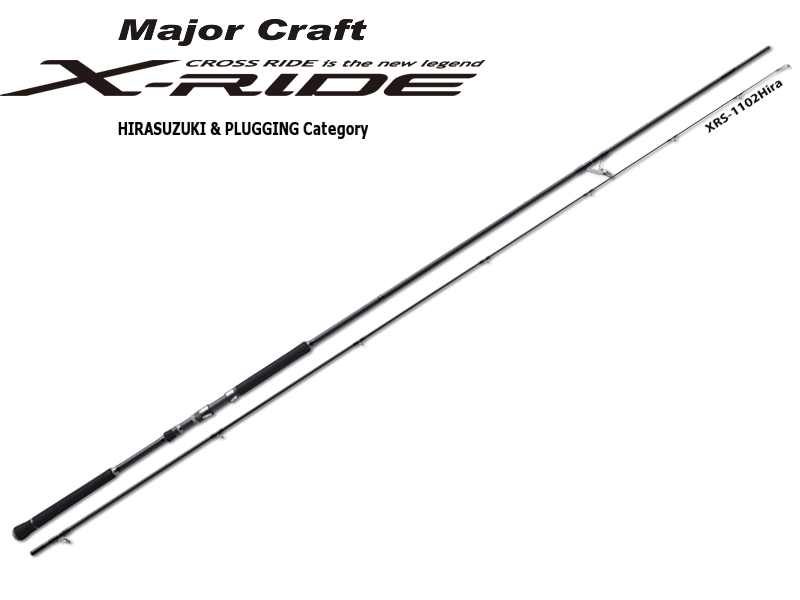 MajorCraft X-Ride Hirasuzuki & Plugging Series XRS-1202HIRA (Length: 3.66mt, Lure: 10-45gr)