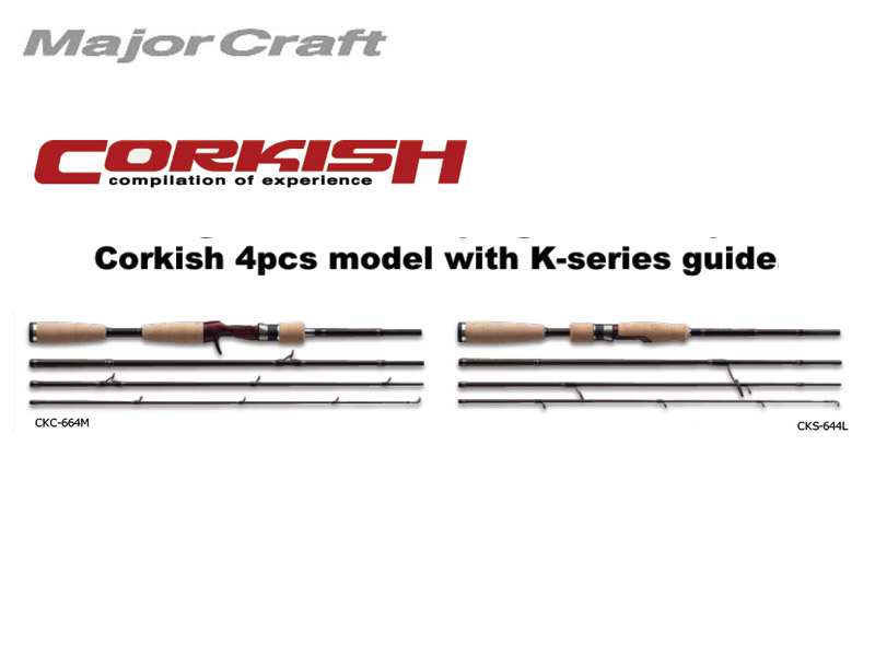 MajorCraft Corkish Spinning CKS-644L (1.95mt, 1/16-1/4 oz)