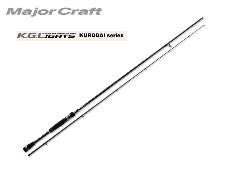 MajorCraft K.G.Lights KURODAI KGL-802ML (Length: 2.44mt, Lure:2-15g)