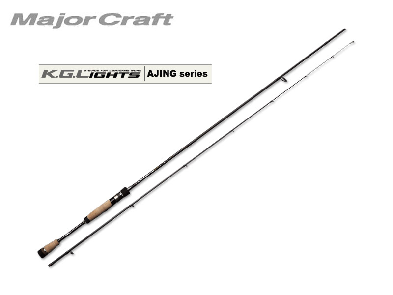 MajorCraft K.G.Lights AJING(Solid Tip) KGL-S762AJI (Length: 2.32mt, Lure: 0.6-10g)