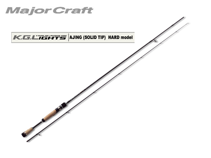 MajorCraft K.G.Lights AJING(Tubular Tip) KGL-T762AJI (Length: 2.32mt, Lure: 0.5-8g)