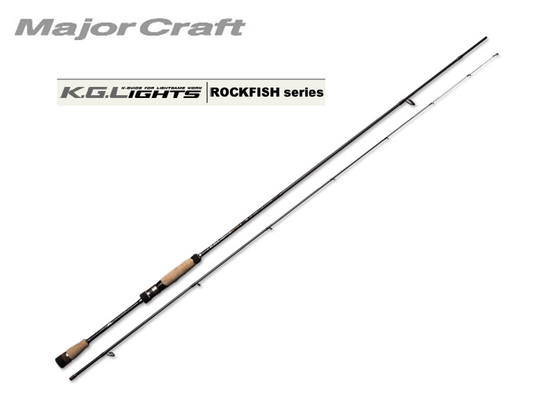 MajorCraft K.G.Lights ROCKFISH(Tubular Tip) KGL-T762M (Length: 2.32mt, Lure: 0.5-7g)