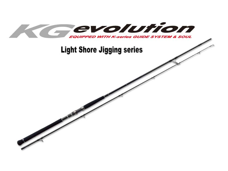 MajorCraft KG Evolution Light Shore Jigging Series KGS-962LSJ (Length:2.93mt, Lure:15g - 50g)