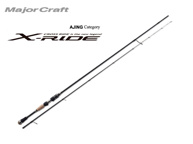 MajorCraft X-Ride Ajing XRS-S752AJI (Length: 2.29mt, Lure: 0.6-10gr)