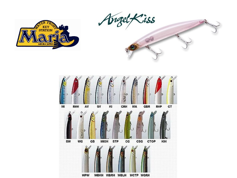 Maria Angel Kiss (140mm, 27g, Color: RHP)