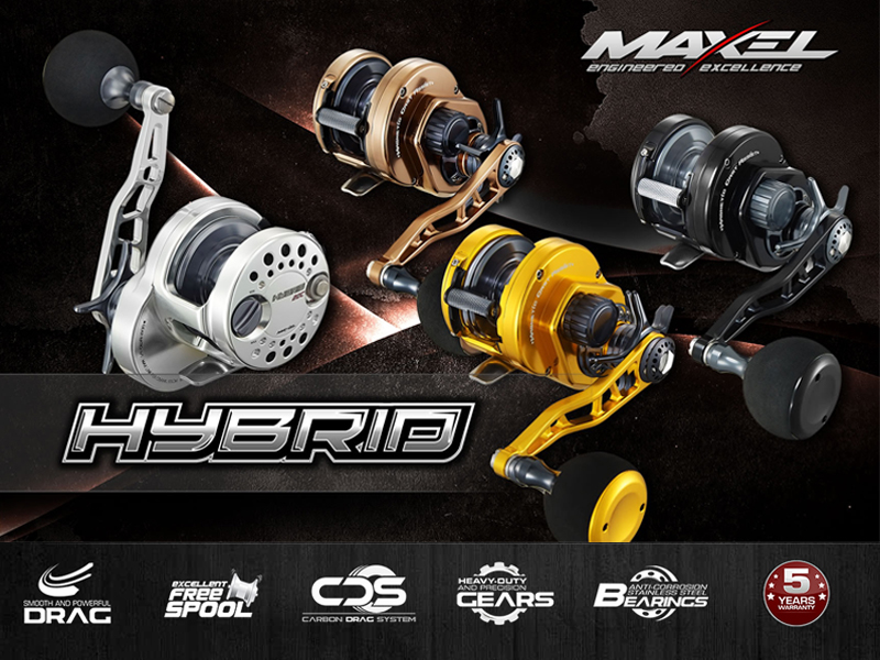 Maxel Hybrid HY20C (Type: Right hand, Color: Black Gun Smoke)