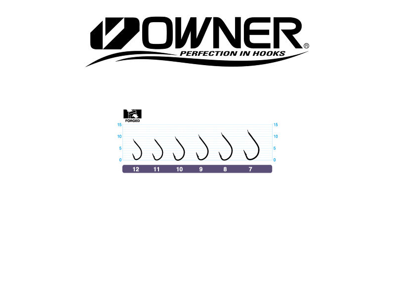 Owner Hook 50034 Isada (#10, 17pcs)
