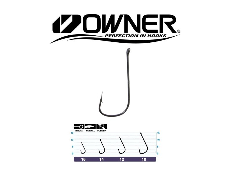 Owner 50921 Penny Hook (#10, 10pcs)