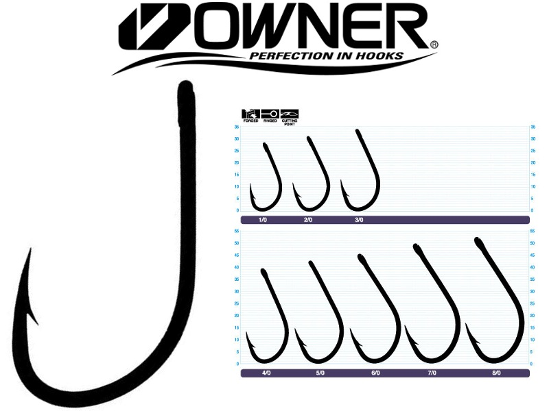 Owner 5170 Aki Hook (5/0, 4pcs)