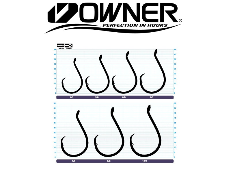 Owner 5178 SSW Circle Hook (#6/0, 6pcs)