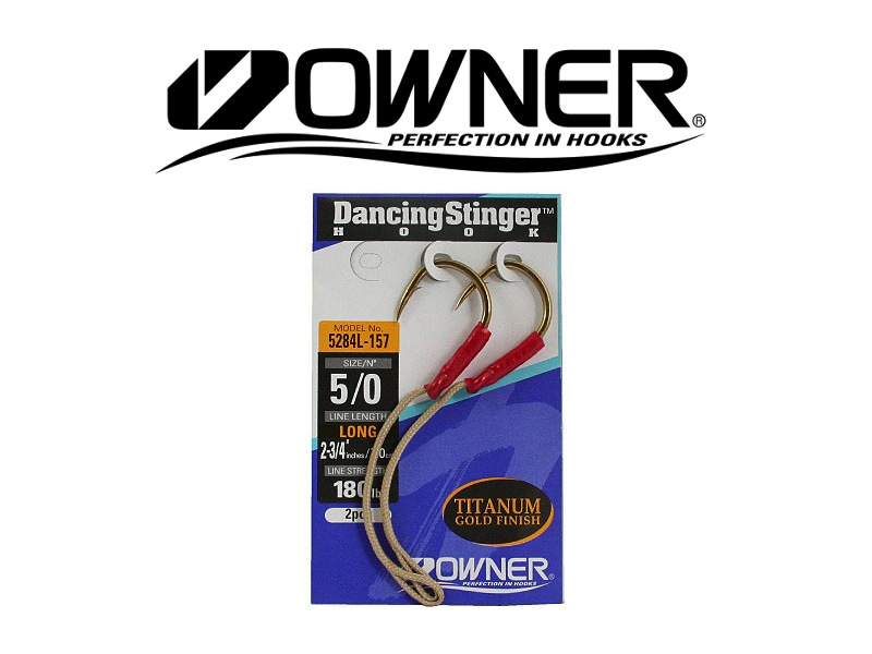 Owner 5284L Dancing Stinger Long (#5/0, 2pcs)