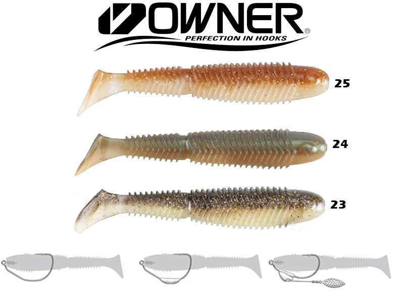 "Owner Ribeye Swimbait RS-140 (140mm, 5.5"", Colour:25)"