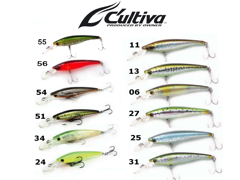 Cultiva Rip'n Minnow RM-70SP (70mm, 6.3gr, Colour:31)