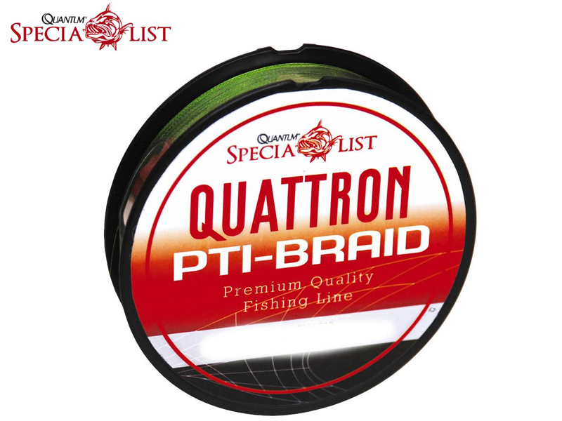 Quantum PTi- Braid Green (0.30mm, Length:2400m, Colour: Green)