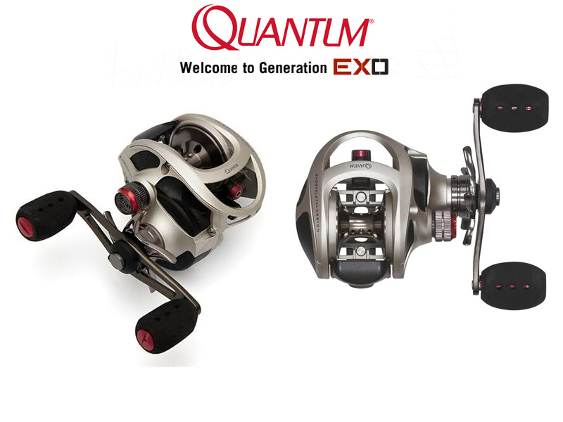 Quantum Exo 301 LH SPT (Gear Ratio: 6.6 : 1, Retrieve: 85 cm, Weight: 212gr, Ball Bearings: 11)