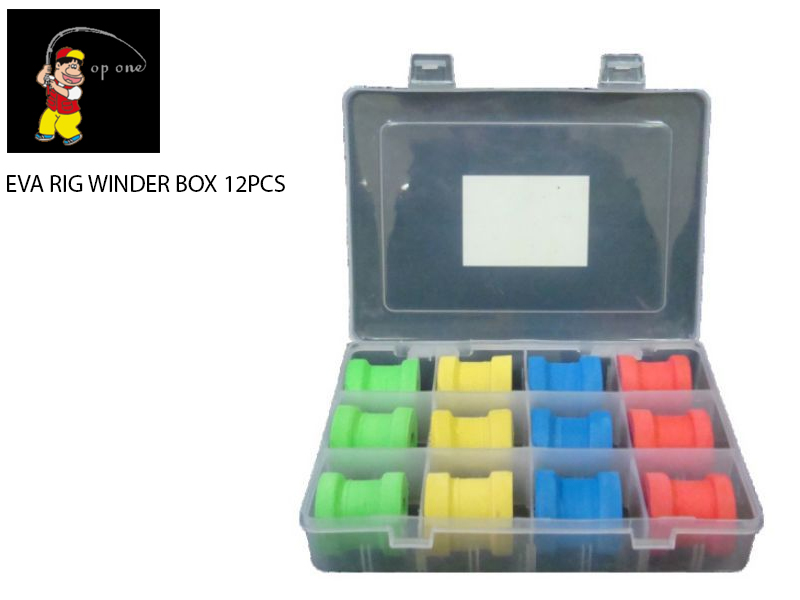 Top One Eva Rig Winder Box 12pcs