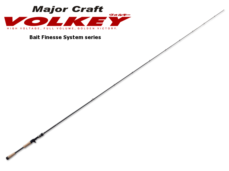 Major Craft Volkey Bait Finesse System Series VKC-652UL/BFS (Length: 1.98mt, Lure:1/32-1/4 oz )