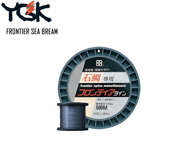 YGK M149 Frontier Sea Bream 500mt ( Size: 14G, Diameter: 0.62mm, Strength: 57lb)